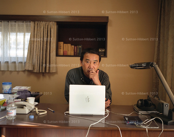 Haruki Murakami, Japanese author.