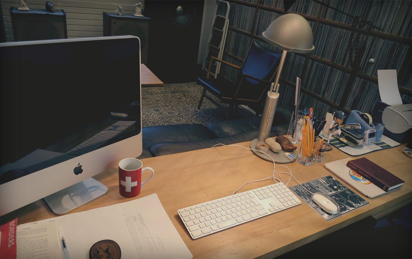 【大图】村上春树的书桌