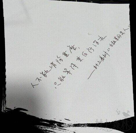 每周一抄(17)| 人不能消除什么,只能等待其自行消失